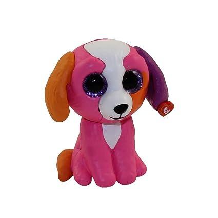 56ed3fc1dd9 Amazon.com  TY Beanie Boos - Mini Boo Figures Series 2 - PRECIOUS the  Multicolored Dog (2 inch)  Toys   Games