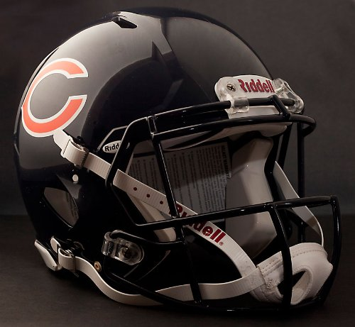 (NFL Chicago Bears Speed Authentic Football Helmet)