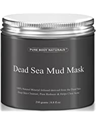 Pure Body Naturals Beauty Dead Sea Mud Mask for Facial...