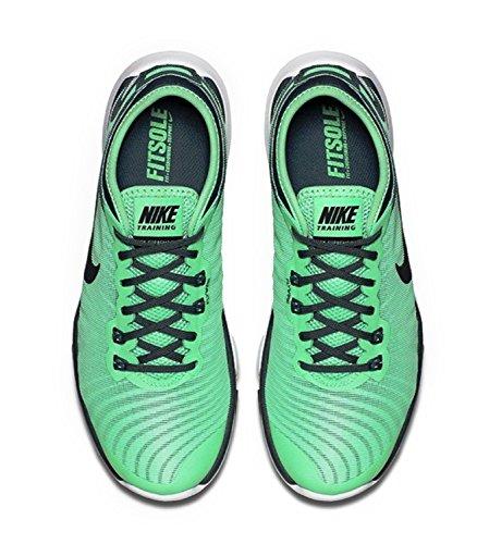Nike Donna Flex Supreme Tr 4 Cross Trainer (7 (m) Us, Bagliore Verde)