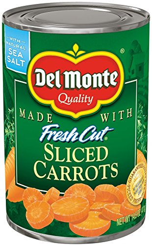 Del Monte Canned Fresh Cut Sliced Carrots, 14.5-Ounce (Pack of 24)