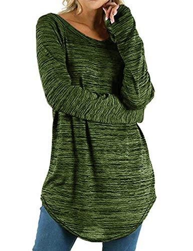 Mujer Verde Kinikiss Kinikiss Para Camisas Camisas wxI0zqYx
