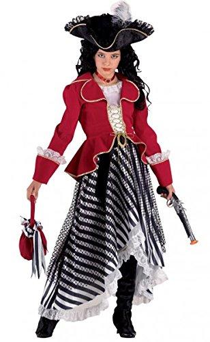 begrenzter Preis groß auswahl Rabatt Luxus Piratin, Karnevalskostüm Piratin, Piratenkostüm Damen ...