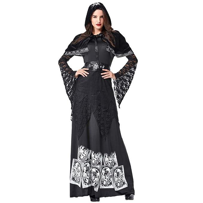 AINI Disfraces de Halloween Mini Vestido, Vestido de Corte ...