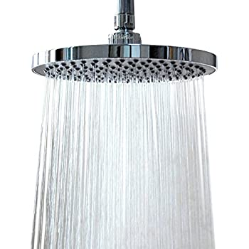 Shower Head Rainfall High Pressure 6 Rain High Flow Fixed