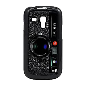 Case Fun Case Fun M9 Black Camera Style 2 Snap-on Hard Back Case Cover for Samsung GalaxyS3 Mini (I8190)