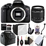 Canon EOS Rebel T6 18MP Digital SLR Camera with 18-55mm EF-IS STM Lens and Accessory Bundle