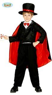 Costume da mago prestigiatore illusionista bimbo 7-9 anni 5a70418f8a20