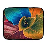 13 15 inch Colors of Leaves Laptop Sleeve Bag Water Resistant