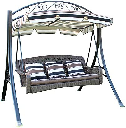 YY FLY Outdoor Patio Swing,Wing