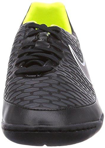 Nike Mens Magista Onda Inomhus Svart / Svart / Volt / Vit Fotbollsskor