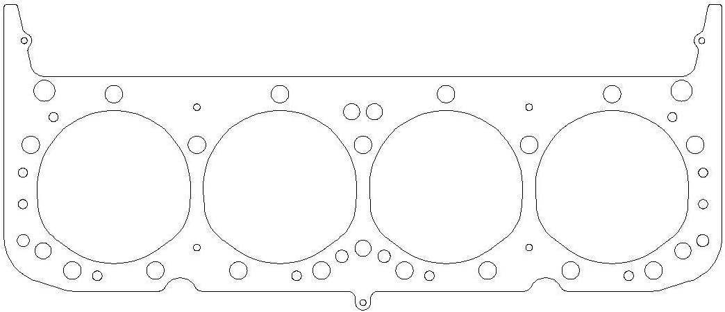 GM Gen I Small Block V8 .040 MLS Cylinder Head Gasket 4.100