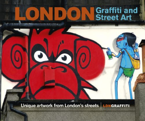 London Graffiti and Street Art: Unique artwork from London's ()