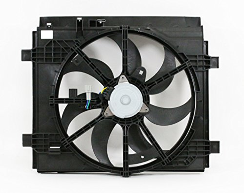 Nissan Cooling Sentra Radiator Fan - Dual Radiator and Condenser Fan Assembly - Cooling Direct For/Fit NI3115146 13-18 Nissan Sentra
