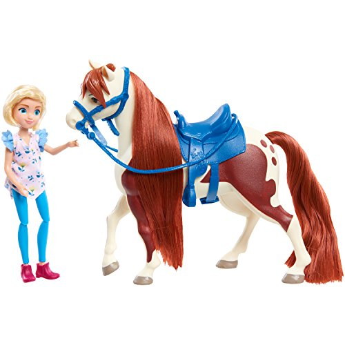 Spirit Riding Free Small Doll & Horse Set - Abigail and Boomerang