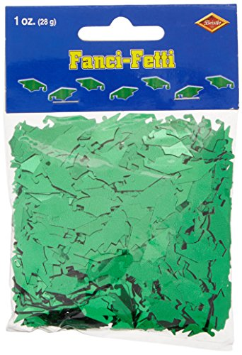 Fanci-Fetti Graduate Caps (green) Party Accessory  (1 count) (1 Oz/Pkg) (Accessories Party Graduation)
