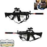 #8: Jon Bernthal Autographed/Signed Marvel Punisher Airsoft Assault Rifle With Punisher Skull Inscription