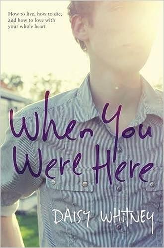 Descripción del libro de When You Were Here, ISBN 978-0316209755