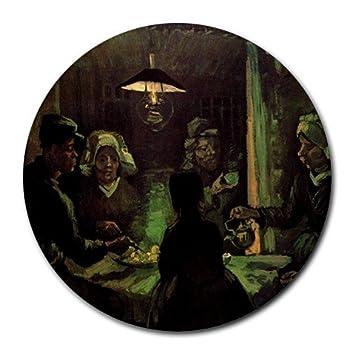 Los comedores de patatas por Vincent van Gogh Round alfombrilla de ...