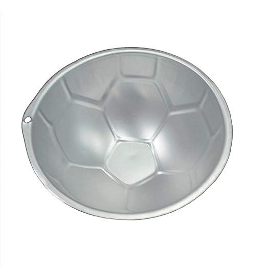 GCCI Forma de fútbol Molde para hornear Molde para panqueques ...