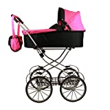 (US) My Sweet princess deluxe pram (32'' high) with FREE carriage bag
