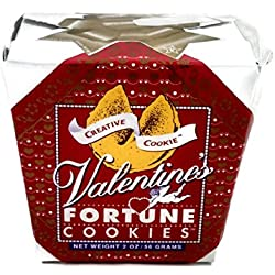 Valentines Day Fortune Cookies - Unique Gourmet Gift Kosher Certified