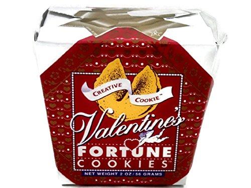Valentines Day Fortune Cookies - Unique Gourmet Gift Kosher Certified