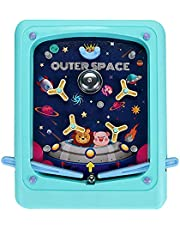 Sraeriot Pinball Toy Pocket Desktop Pinball Game Machine Kinderen Interactief Educatief Speelgoed Roze, Pinball Games