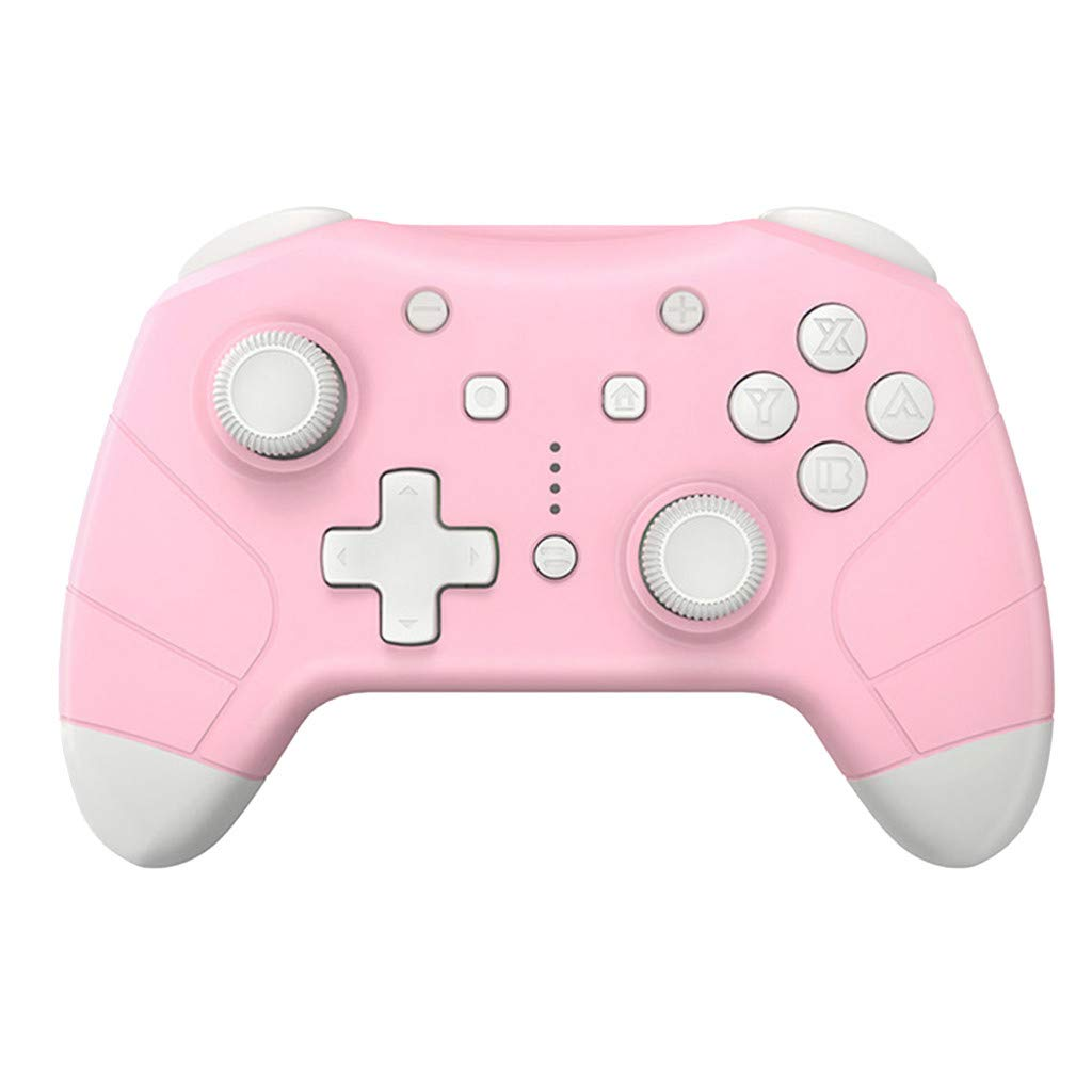 for Nintend Switch Pro Universal Controller Wireless Game Controller Gamepad (Size: 155 x 110 x 60mm, Pink)