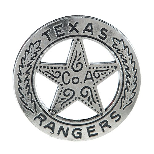 Western Fashion Accessories Texas Ranger Replica Badge]()