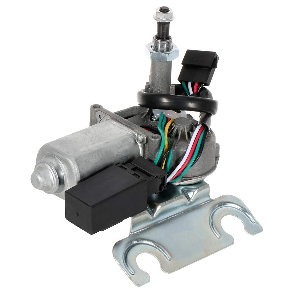AUTOMUTO Windshield Washer Pump Motor Windscreen Wiper Motor Replacement fit for 1997-2001 Jeep Cherokee 620-00909