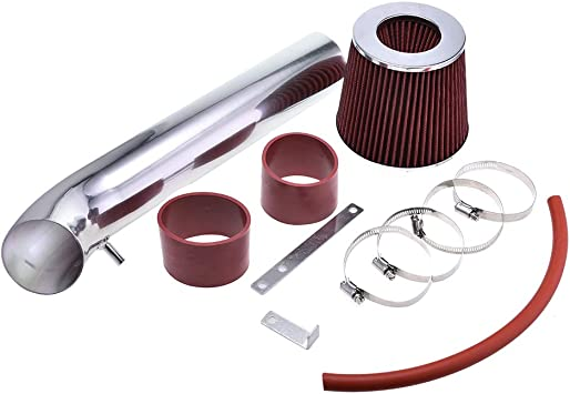 G35 3.5L V6 Perfit formance Cold Air Intake Kit With Turbine Filter fit for 2003 2004 2005 2006 Nissan 350Z /& Infiniti FX35 Red