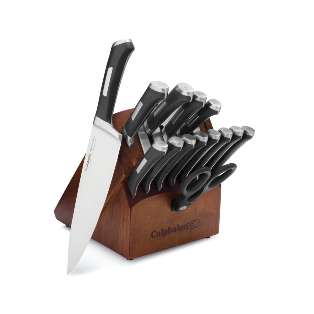 Calphalon Precision Self-sharpening 15-piece Knife Block Set, with SharpIn Technology (1932941)