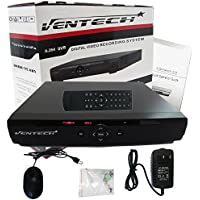 ventech 8 Channel H.264 D1 Surveillance DVR HDMI VGA Output Support Smart Phone and PC Remote Access (NO Hard Drive) VT-7208Z