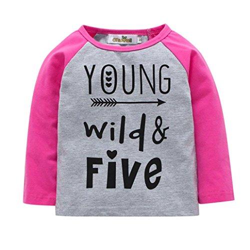 Alphabet Girls Long Printed Suma Sleeve T Blouse Ma Baby Tops Shirt wiPZuOXkT