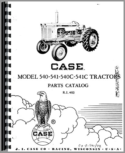 Case 541C Tractor Parts Manual pdf epub