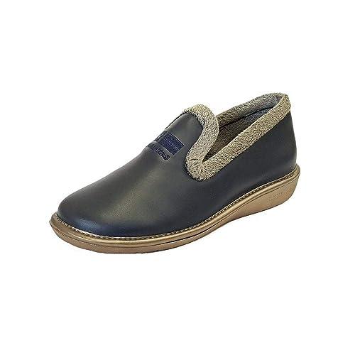 Nordikas - Zapatillas de Estar por casa para Mujer Azul Azul Marino, Color Azul, Talla 40 EU: Amazon.es: Zapatos y complementos