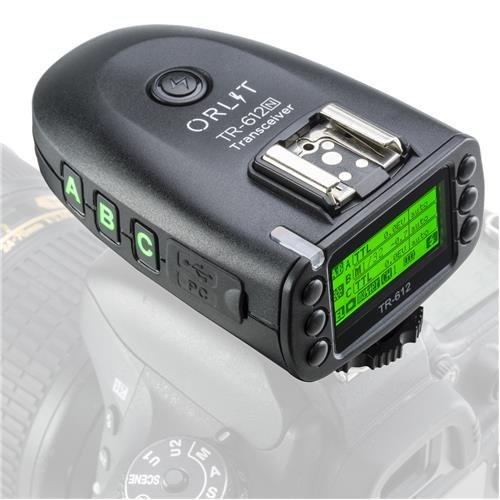 ORLIT TR-612N TTL 2.4Ghz Transceiver for Rovelight RT 610 - Nikon