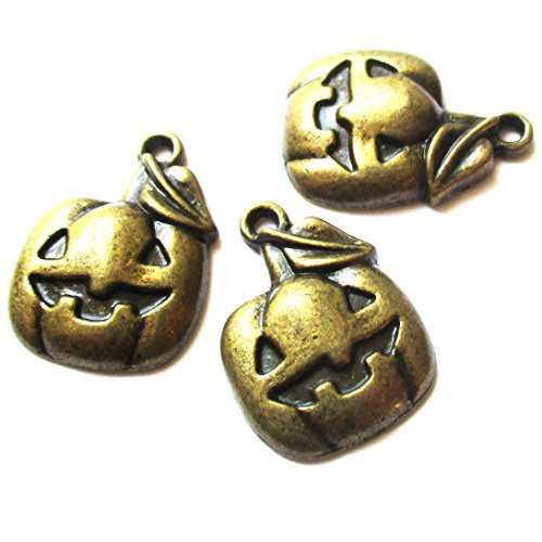 Brass Lock Charms - 9