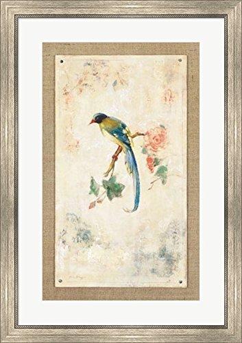 Amazon.com: Great Art Now Blue Magpie by Jillian David Design Framed ...