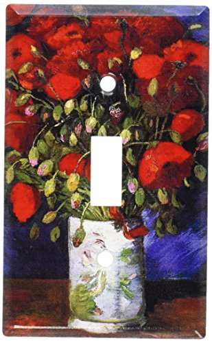 Cover Switchplate Decorative - Art Plates - Van Gogh: Poppies Switch Plate - Single Toggle