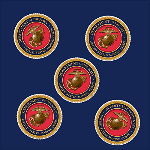 Partypro US Marines Sticker (24 Pieces) from Partypro