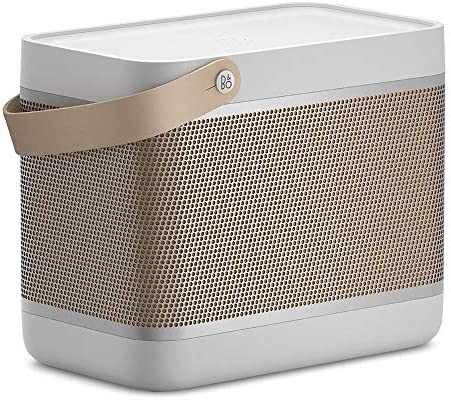 Bang & Olufsen Beolit 20 Highly effective Transportable Wi-fi Bluetooth Speaker, Gray Mist