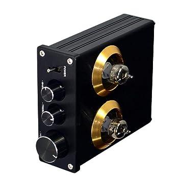 F Fityle Amplificador de Audio Válvula Tubo 6J1 ...