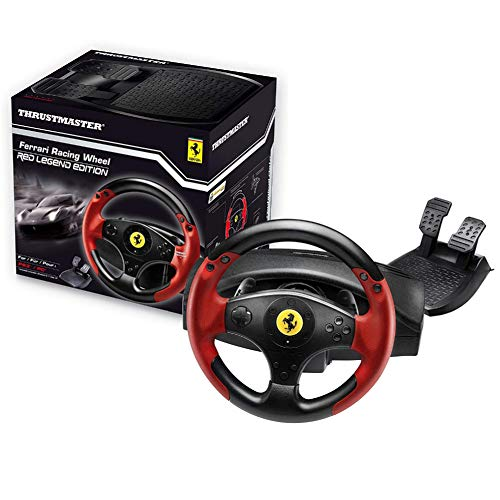 Thrustmaster Ferrari Racing Wheel Red Legend Edition (PC/PS3) (F1 Steering Wheel Ps3)