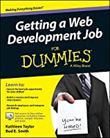 Getting a Web Development Job For Dummies Front Cover