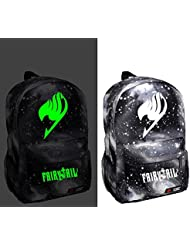 YOYOSHome Fairy Tail Anime Natsu Dragneel Cosplay Luminous Daypack Backpack School Bag(8 Styles)