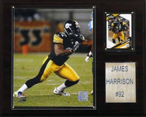 NFL James Harrison Pittsburgh Steelers Player Plaque
