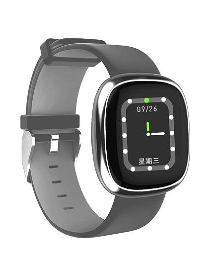 ZUEN Reloj Inteligente para Mujer Podómetro Reloj de Ritmo cardíaco Rastreador de Ejercicios para Deportes IP67