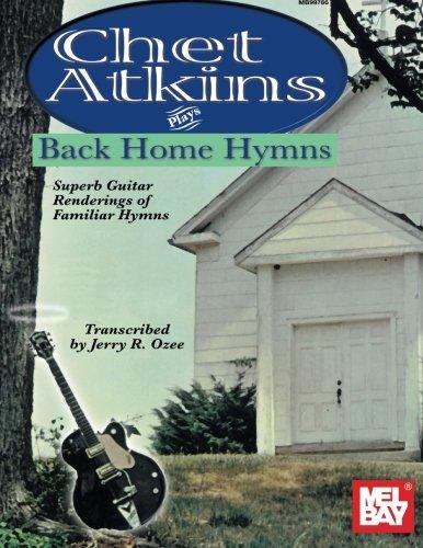 Chet Atkins Plays Back Home Hymns (Hymn Gospel Book)